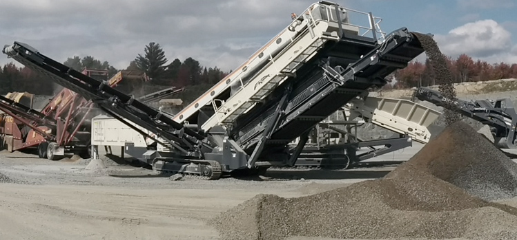 Granulats - Service d'Excavation R. Toulouse - Excavation, vente et transport de matériel et installation septique