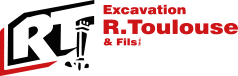 Excavation R. Toulouse & Fils Mobile Logo